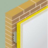 Detalle constructivo sistema de aislamiento por el interior con trasdosado